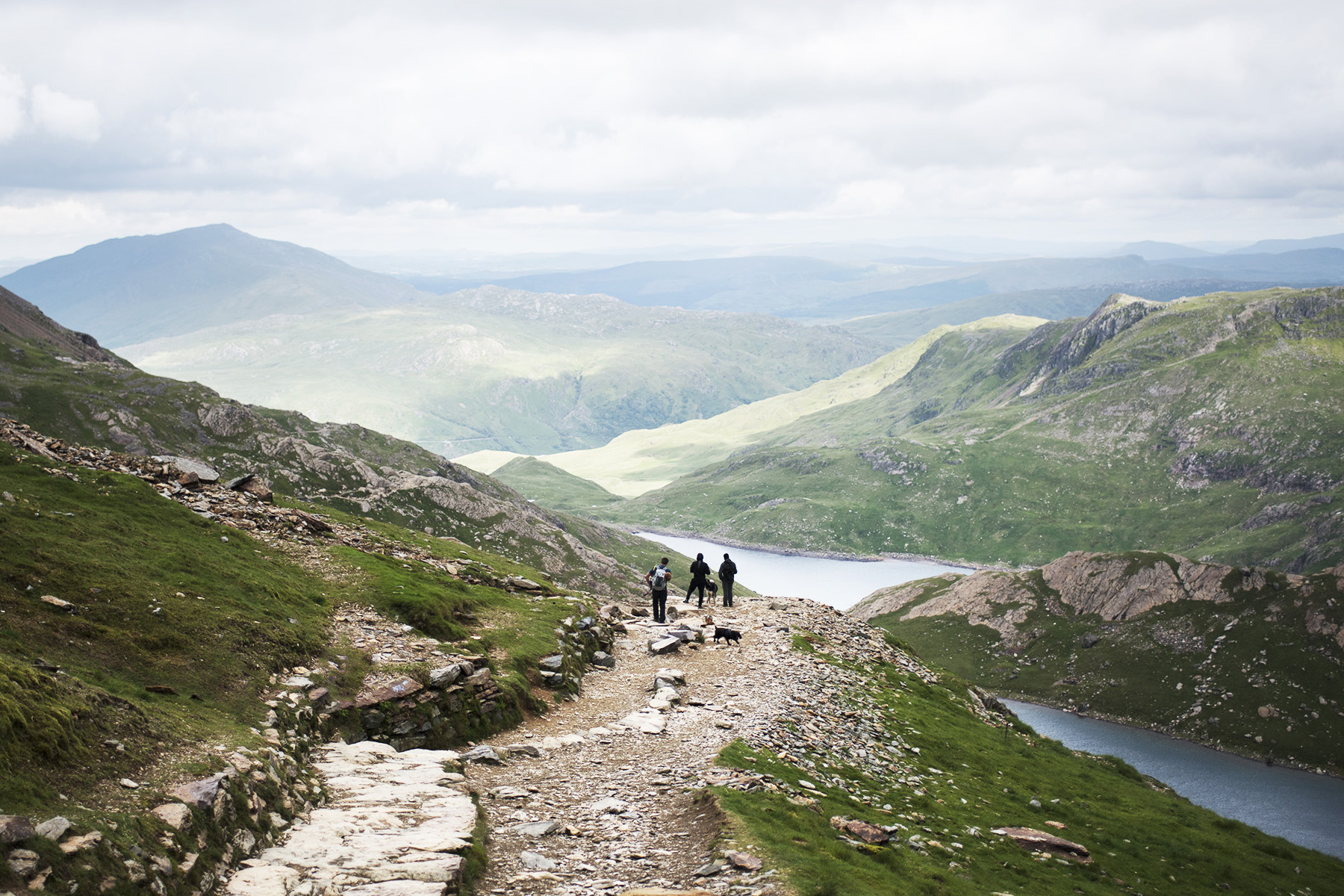 Breathtaking Views on Snowdon | The Cornish Dog