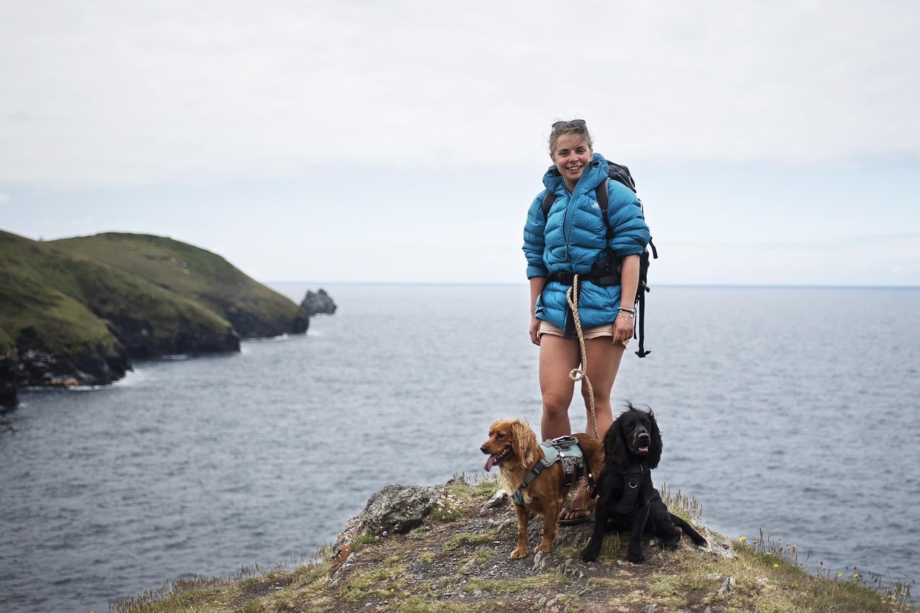 Hiking the Cornish Coast Path | The Cornish Dog