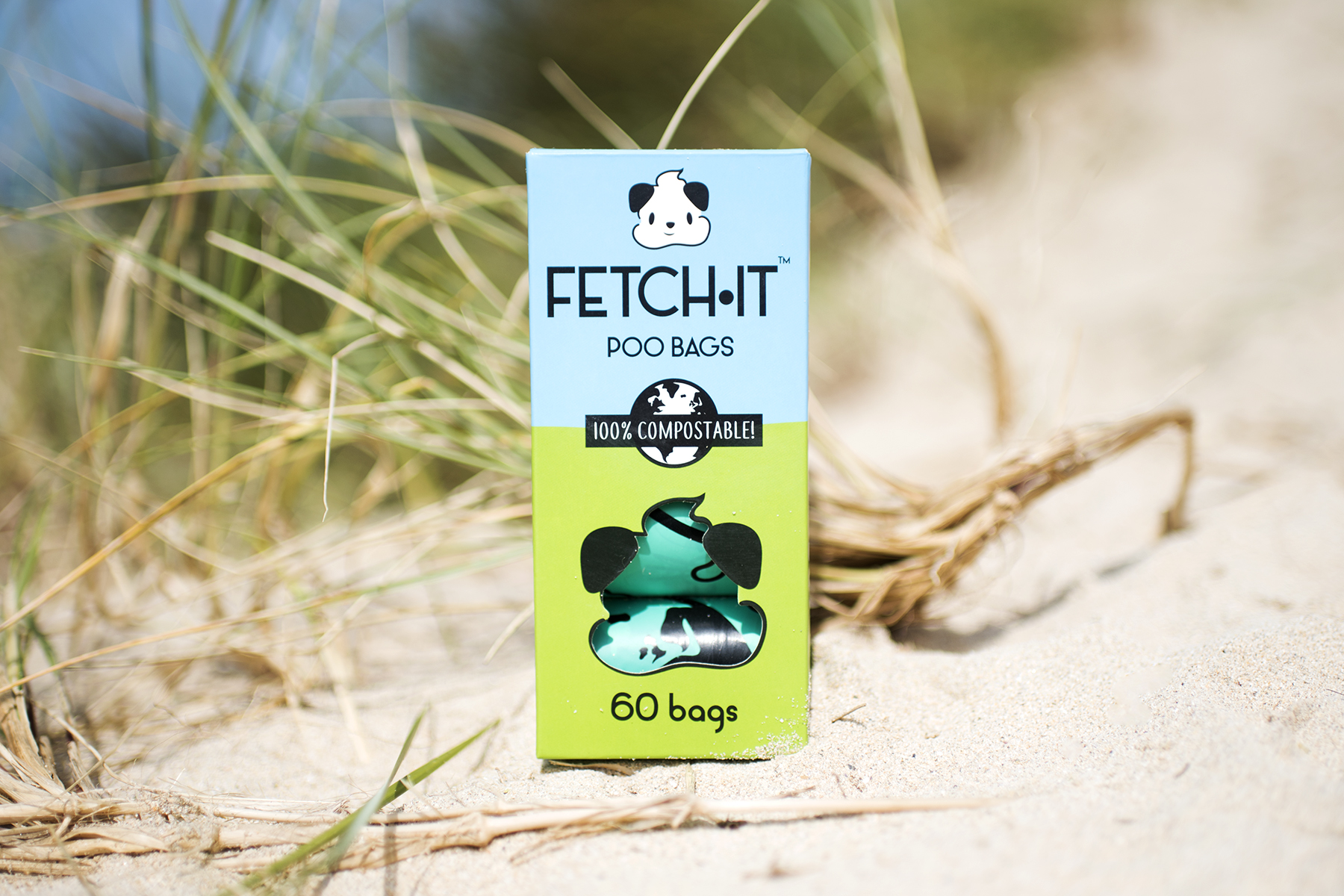 Fetch It Compostable Poo Bags | The Cornish Dog