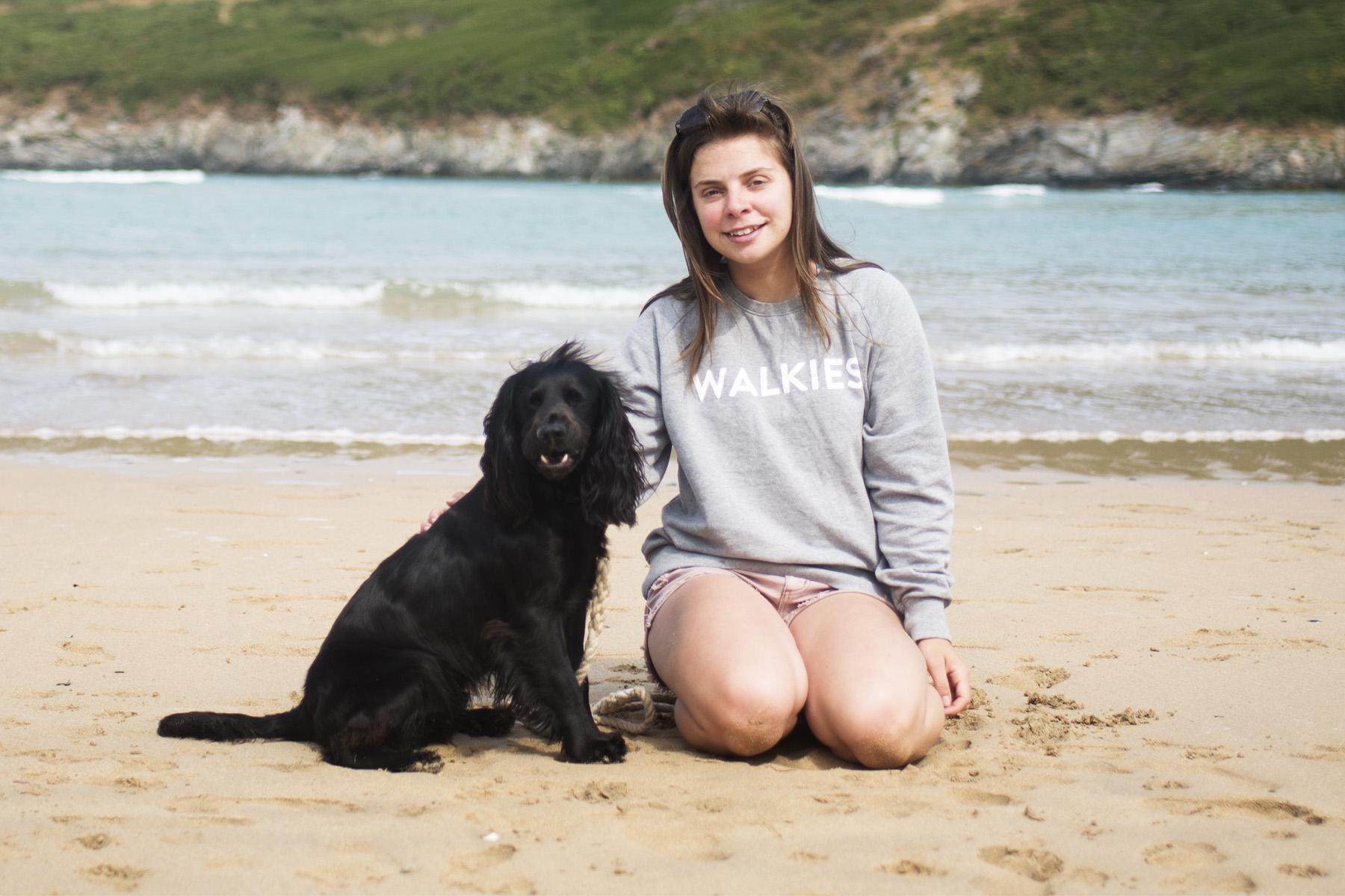 Walkies Sweatshirt   The Cornish Dog